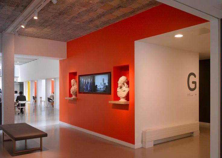 147 best office design images on pinterest design for Office entrance design
