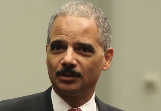 """Eric Holder on Comey in WashPo: """"He Has Committed a Serious Error"""""""