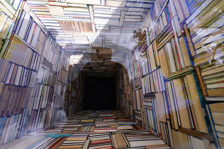 Intriguing Installation Plunges a Library Deep into the Ground - My Modern Met