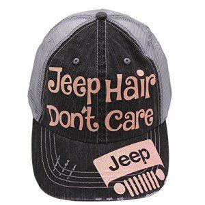 Jeep Hair Don't Care Baseball Cap