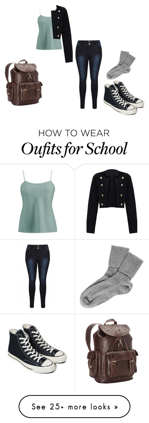 """Finally A Change Of New Clothes"" by pokeasaurousrex on Polyvore featuring Ralph Lauren Collection, Ropin West, Converse and Black"