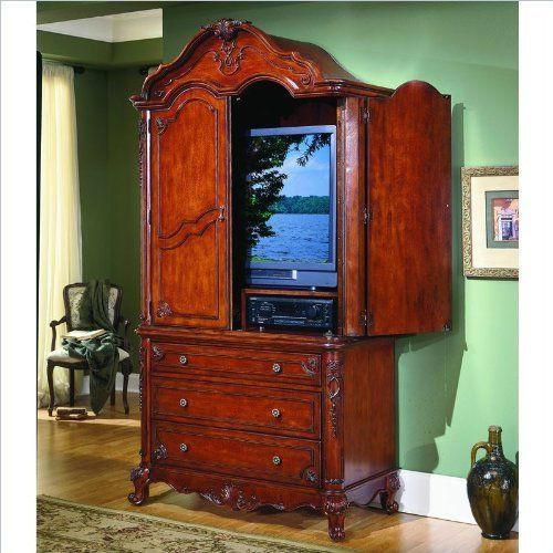Tv Bedroom Furniture: 109 Best Images About Furniture: Armoires/Bookcases/Curios
