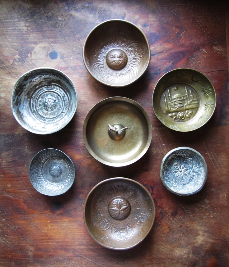 turkish bathroom-hamam bowls.