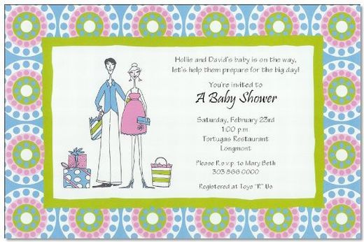 Jack And Jill Baby Shower And Invitations