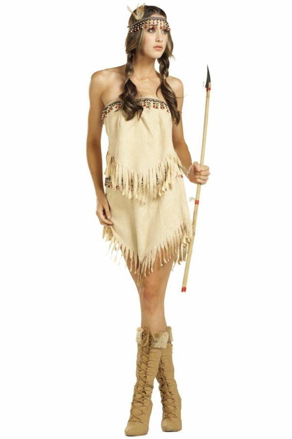 sexy-halloween-kostüme-indianer-mädchen