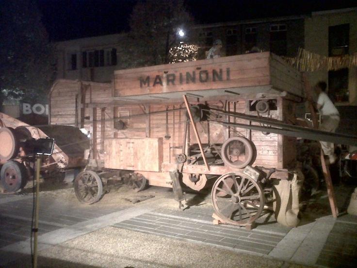 Ecomuseo del Paesaggio Lomellino - macchina agricola