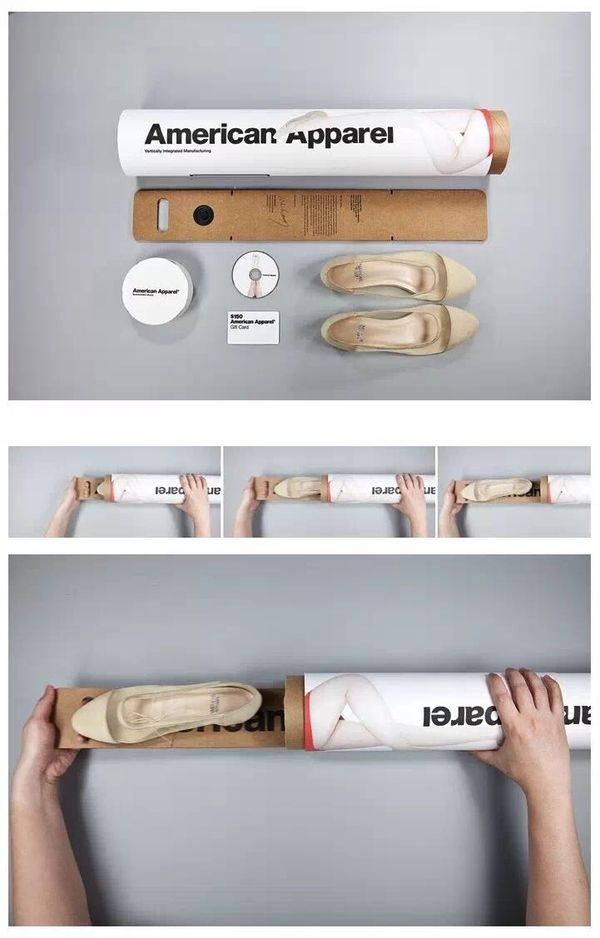 American Apparel Sustainable Pack by Jiajie Roger Wang