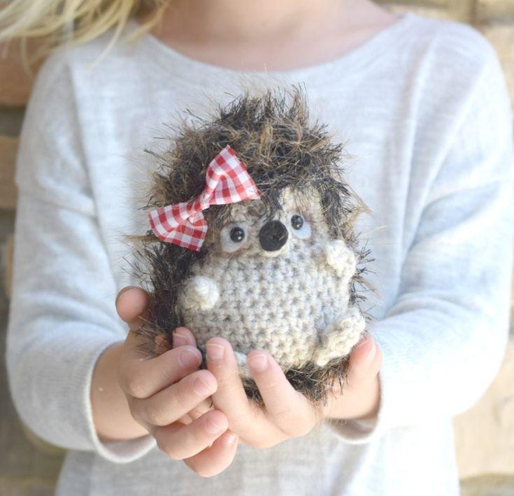 Woodland Hedgehog Amigurumi Crochet Pattern