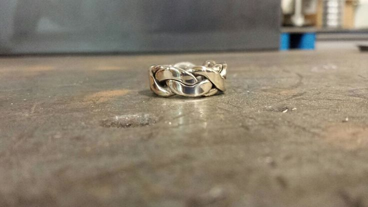 Nice Little Hand Made Silver Ring