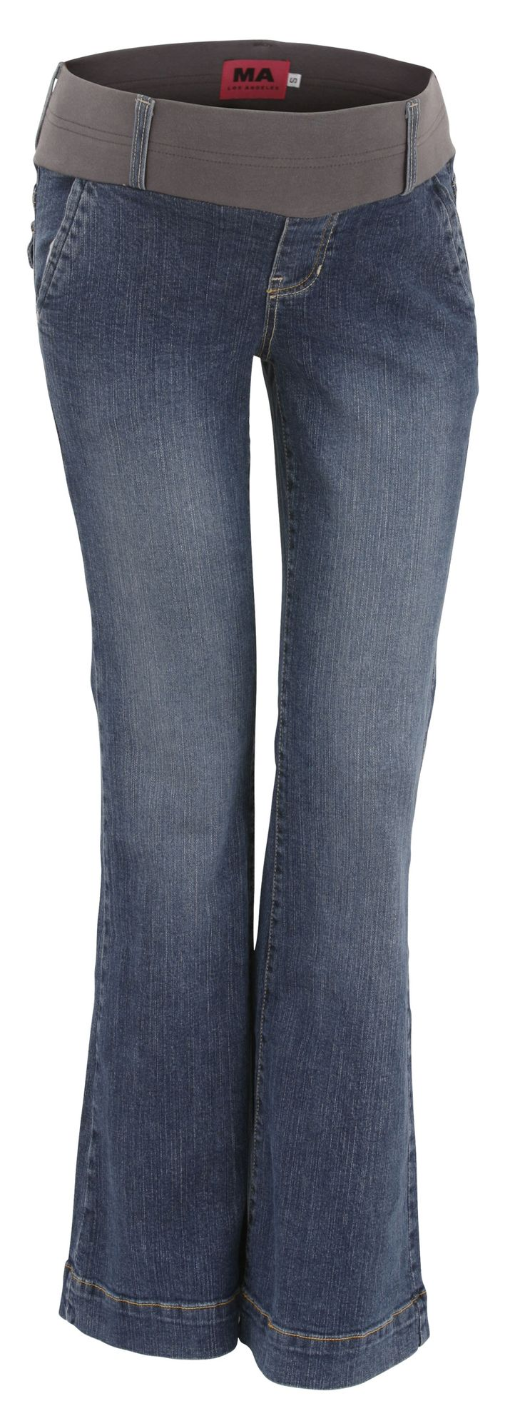 Maternal America Flare Boot Cut Maternity Jeans from Just Maternity Jeans | P197 MA2