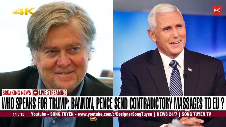 CNN BREAKING NEWS | Bannon, Pence send contradictory messages to EU