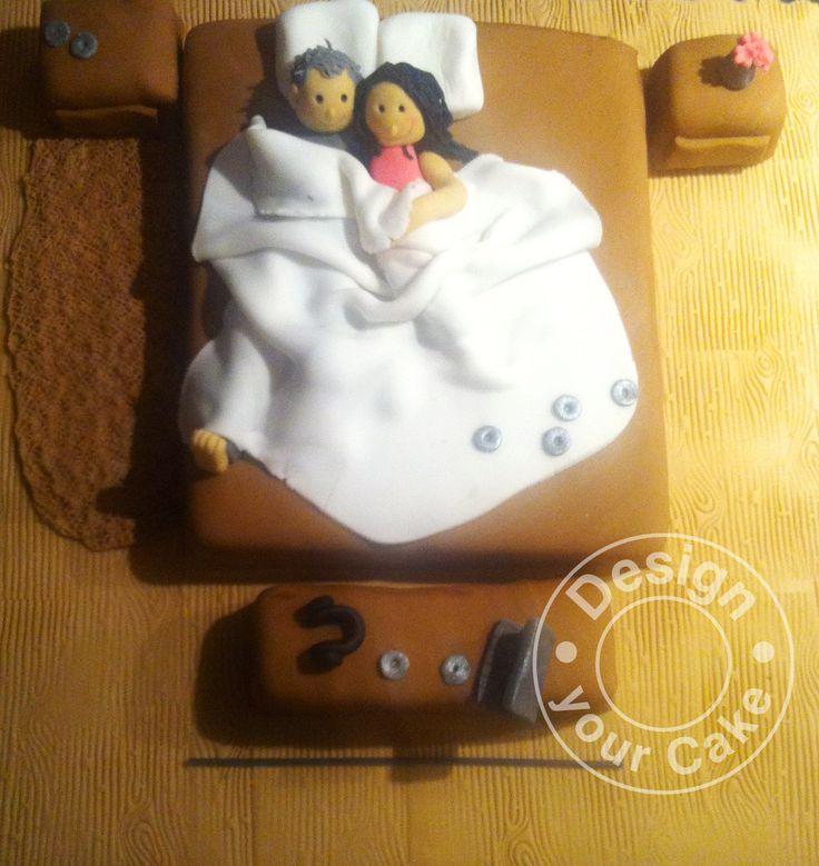 Couple cake, anniversary cake