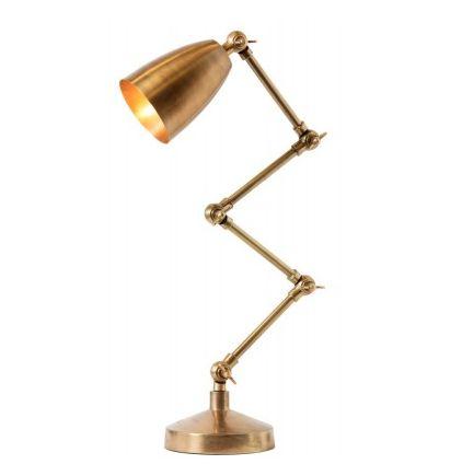 den perfekta mässingslampan, sovrumslampa, sänglampa, watt & veke