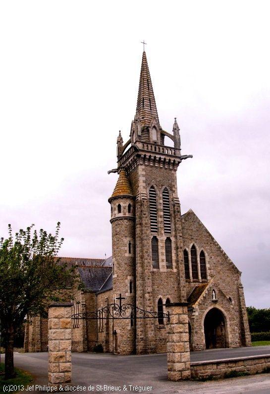 Église Notre-Dame de Landouar, Saint-Jacut-de-la-Mer.