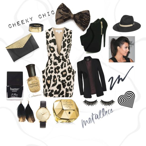 """""""Cheeky Chic"""" by louiseenorris on Polyvore"""