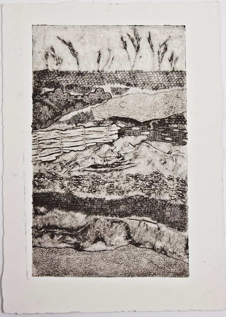 Image result for collograph on wood