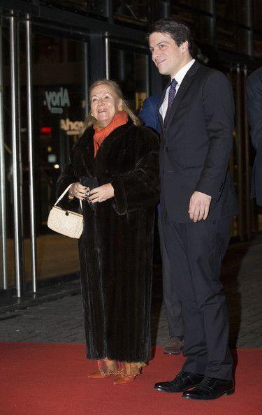 Princess Christina of The Netherlands and Prince Bernardo attend a celebration of the reign of Princess Beatrix on 01.02.14 in Rotterdam, Netherlands.