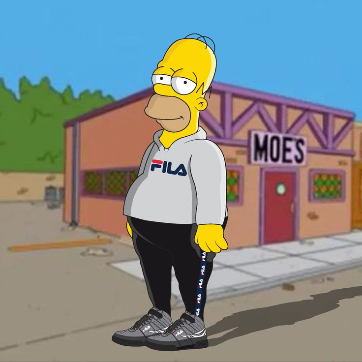 Homer Simpson The Simpsons Hypebeast Pinterest Homer