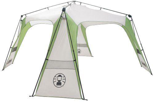 Coleman Pavillons Coleman Instant Event Shelter. Sonnenschutz - Carpa para acampada, color gris / verde, talla 4,3 m