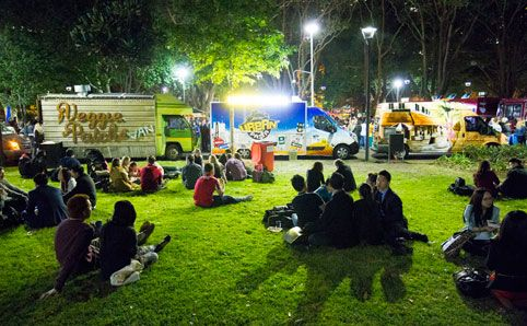 StreetFest Food Trucks United -  Feast on food truck snacks at Pyrmont Bay Park as vendors like the Veggie Patch, Eat Art Truck...