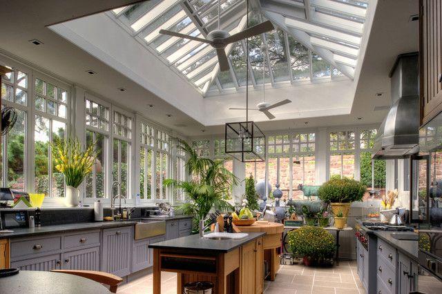 Conservatory kitchen