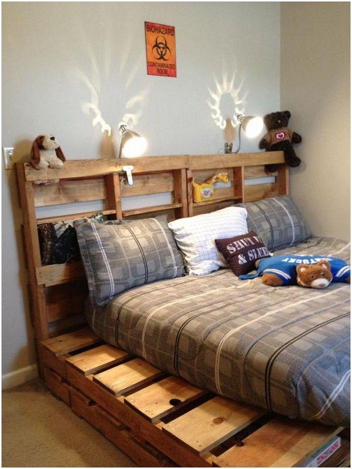 Palletbed Diy Pallet Bed Frames