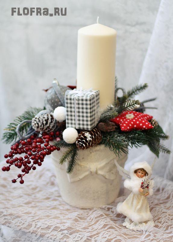 Рождественская подарок своими руками