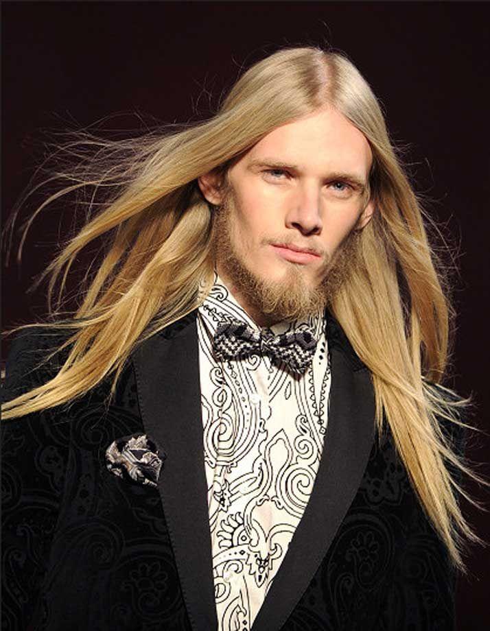 Frisuren männer langes gesicht blond haare gerade | Haare