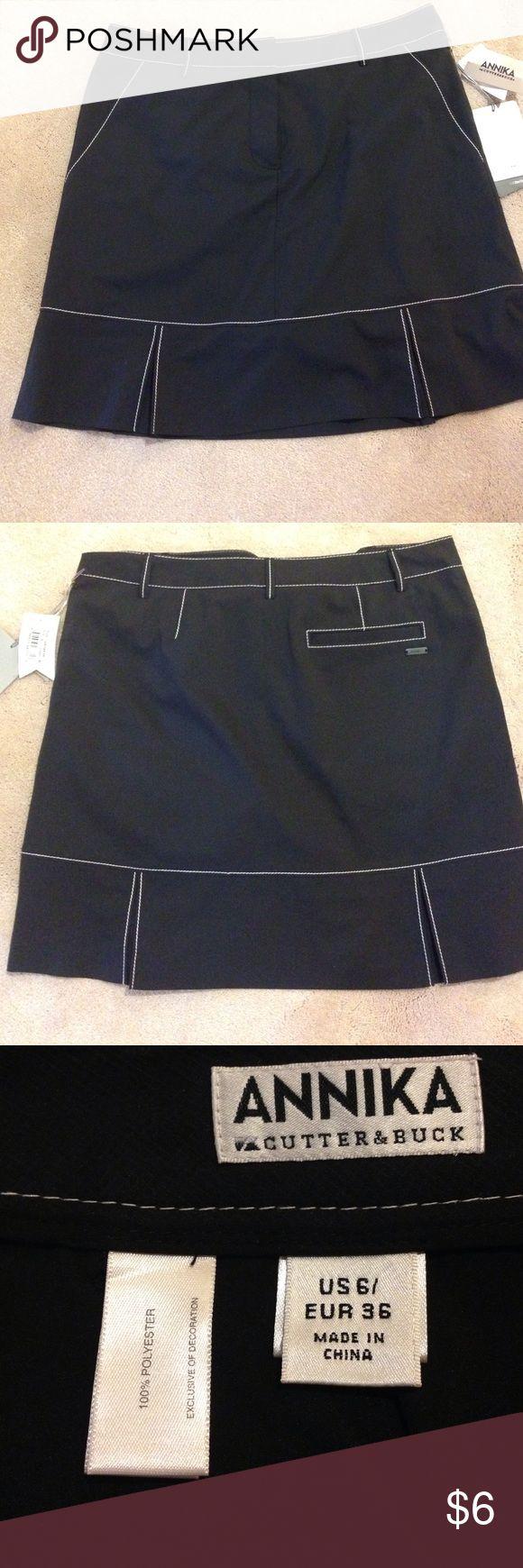 Golf skirt This black golf skirt has never been worn. Annika Skirts Mini