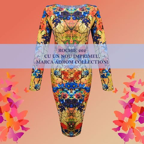 Un nou imprimeu în stoc, la cel mai bine vândut model marca Adrom Collection, rochia R262 <3  Preț? Doar 25lei!     Comandă acum! Stoc limitat!     Link rochie R262:  www.adromcollection.ro/rochii/50-rochie-angro-r262.html