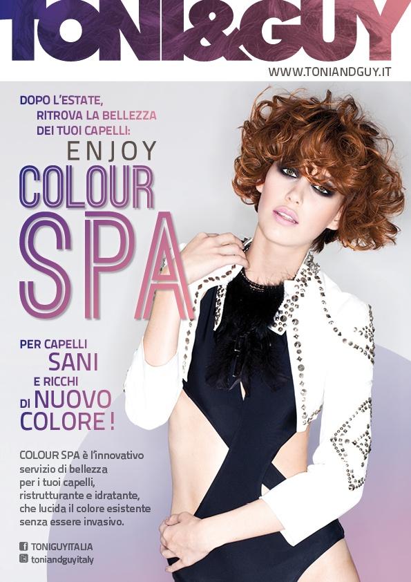 In soli 30' il trattamento innovativo e non invasivo Colour Spa dona ai tuoi capelli un aspetto più sano e un colore più intenso! Richiedi il servizio Colour Spa nei saloni TONI!