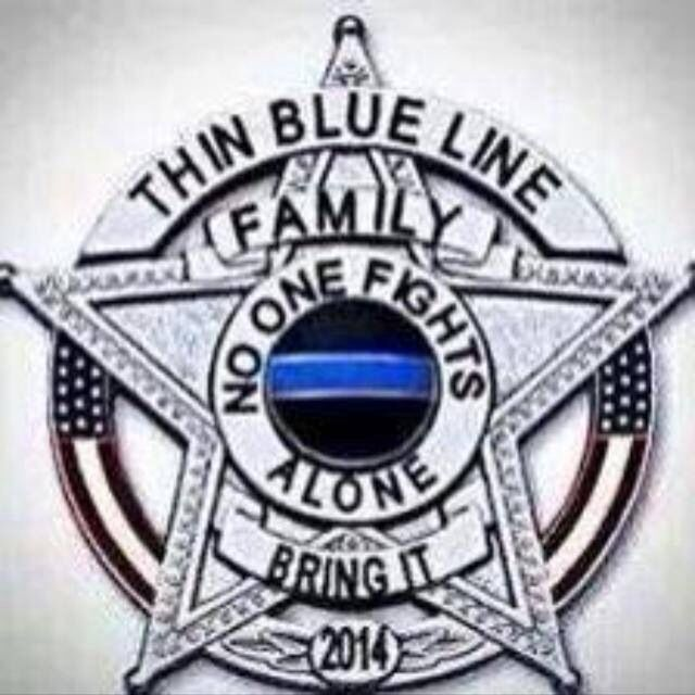 Thin blue line. No words are more true.