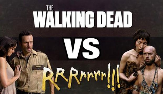 Vidéo hilarante entre The Walking Dead et RRRrrrr, le film d'Alain Chabat !