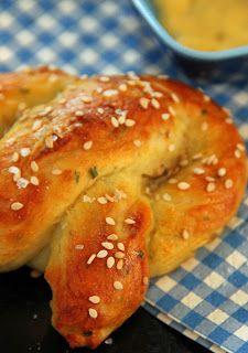 Soft Pretzel For One. Whaaaaaaaaat? A real pretzel? Yeeeeeeessssssssss!!