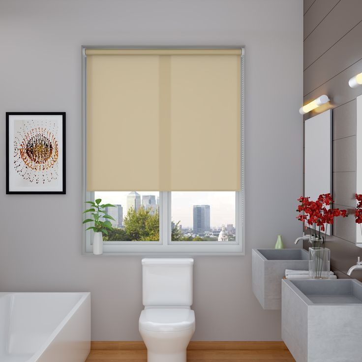 Splash Hessian Roller Blinds - Make My Blinds