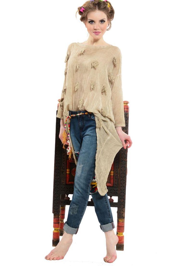 Otantik Sıla Tunik Modelleri - Bayan Giyim