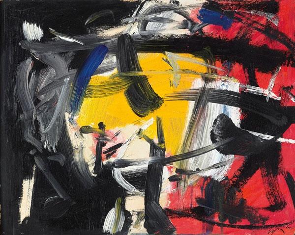 Untitled (1963) by Emilio Vedova
