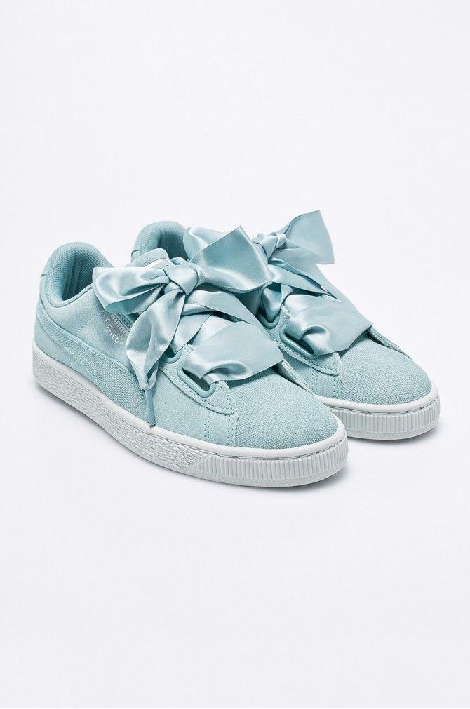 76cb833f807 Pantofi sport şi tenişi Lifestyle - Puma - Pantofi Suede Heart Pebble Wn s