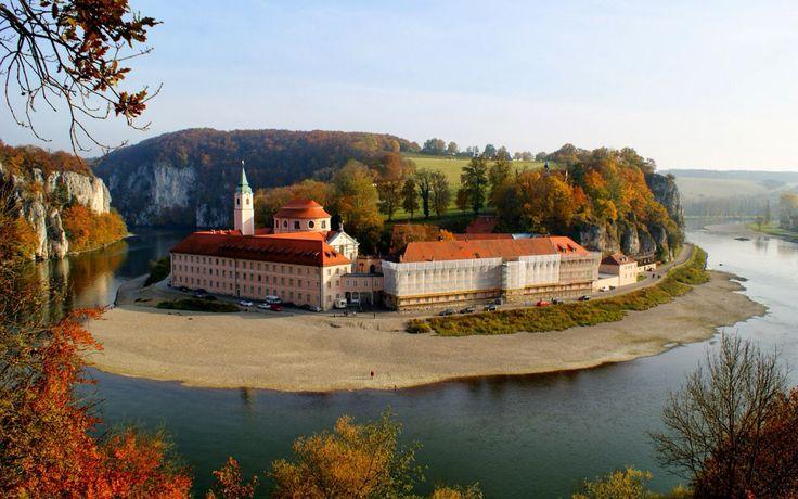 Donau River, Bavaria, Germany