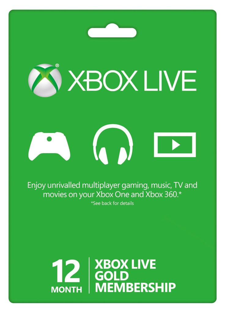 Xbox Live Gold Card 48 hours (Instant)