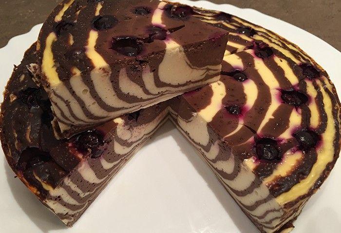 FITNESS tvarohová torta bez múky a cukru