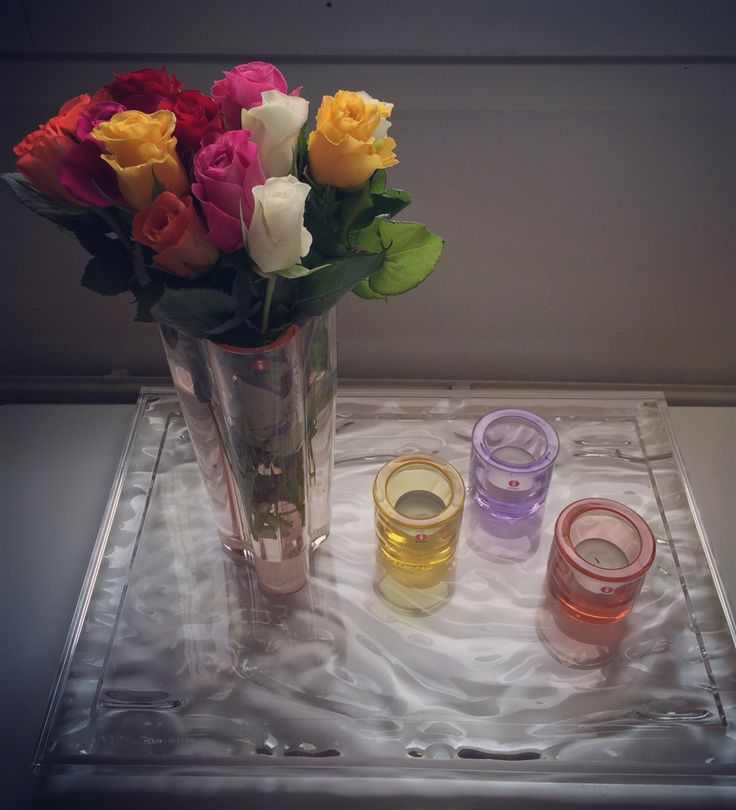 Roses  Kartell dune & Iittala