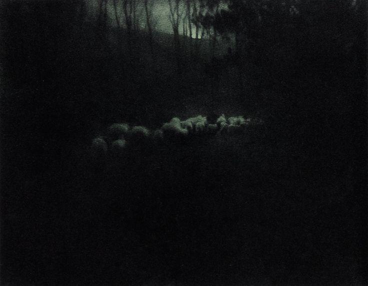 Edward Steichen- Pastoral – Moonlight, by Steichen, published in Camera Work No 20, 1907