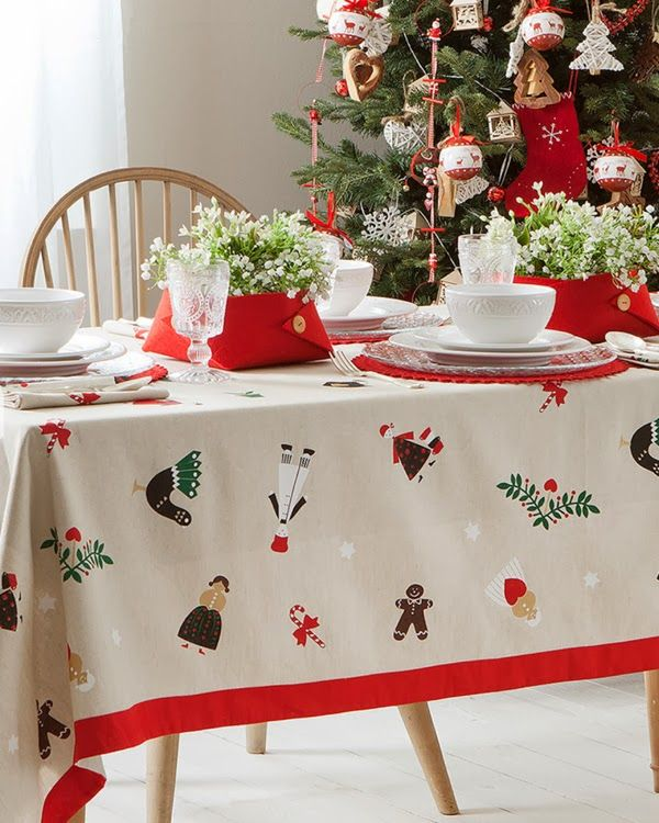 17 best images about manteles de navidad on pinterest for Table zara home