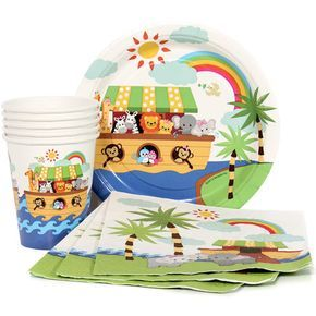 Noah's Ark Munch Pack for 8