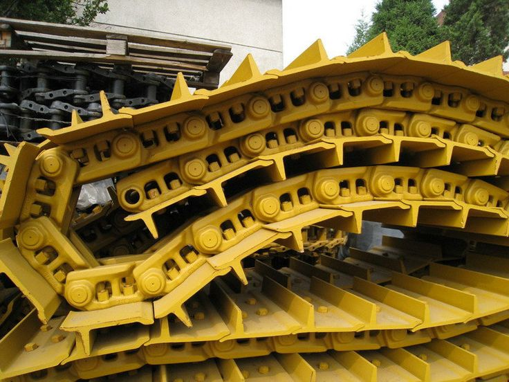 Track Group For Excavators And Bulldozers Track Link Shoe