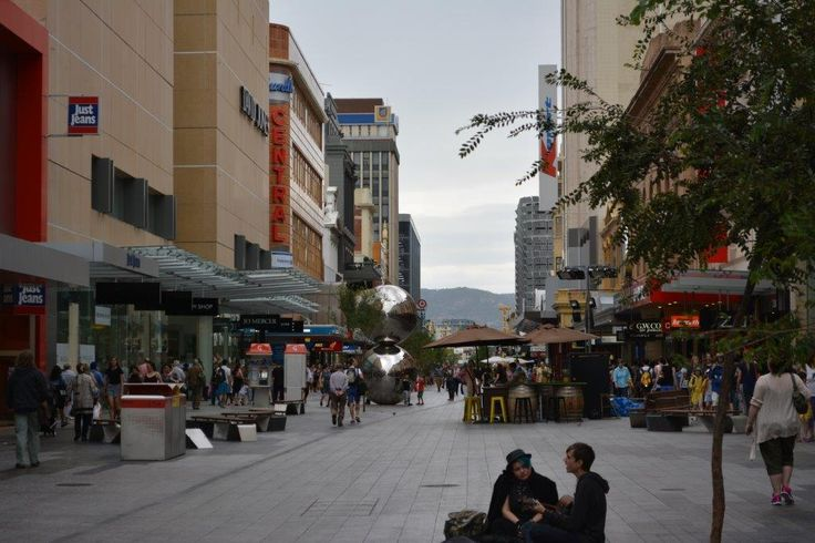 Around Adelaide (Rundle Mall)