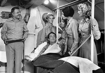 John Astin, Dorrie Thomson, Bond Gideon and Melinda Naud from Operation Petticoat Season One