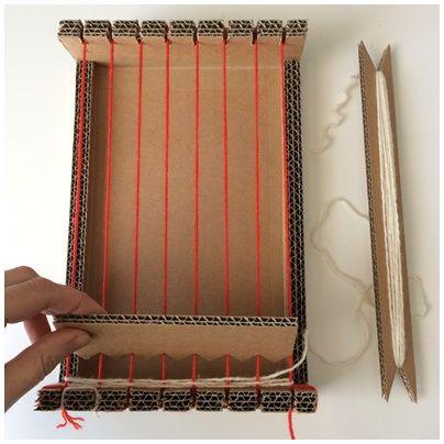 Tutoriel: Fabriquer son métier à tisser. Et pour…