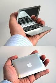 tiny mac just pic no diy. Hand mirror?